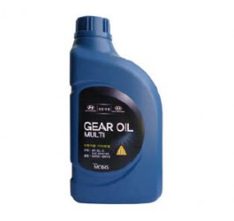 Масло для трансмиссий Hyundai GEAR OIL MULTI 80W-90 GL 5 (1L) Хендай  (0220000110)